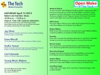 Check out the Open Make @ The Tech with Sudhu Tewari, Founder of AUX + OpenLab Artist