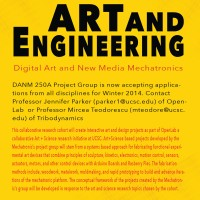 Art + Engineering Merge with OpenLab and DANM MFA Program at UCSC