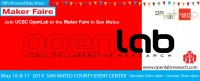 Visit UCSC OpenLab at the 2014 Bay Area Maker Faire this Weekend, May 16 & 17 2014