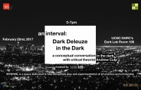 "Please join OpenLab for ""Dark Deleuze in the Dark"" at UCSC"
