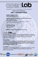 Art+Astrophysics Celebration
