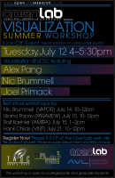 Visualization Summer Workshop